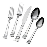 Deals on International Silver Kensington 20-Piece Flatware Set Service for 4