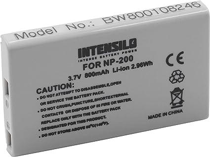 Intensilo Li Ion Akku 800mah Für Kamera Camcorder Elektronik