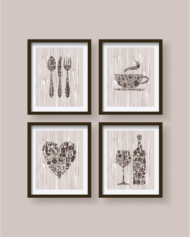 TimPrint Lovely Kitchen decor kitchen wall art kitchen decor