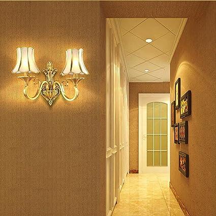 wall lighting living room.  Living HZB Full Copper European Wall Lamp Modern Simplified Bedside  American Bedroom Corridor In Lighting Living Room H