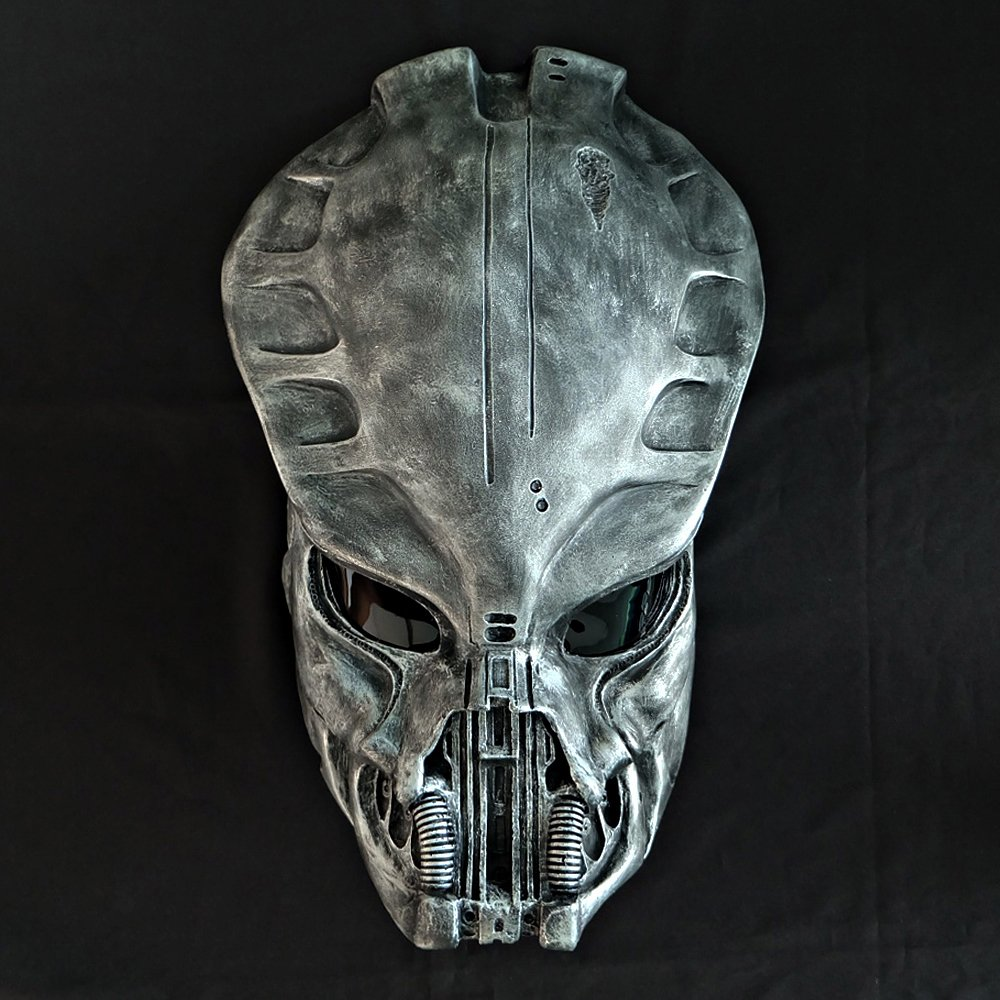 1:1 Full Scale Prop Replica Sideshow Predator AVP Helmet Mask Home Decoration Wall hanging Guardian PD21