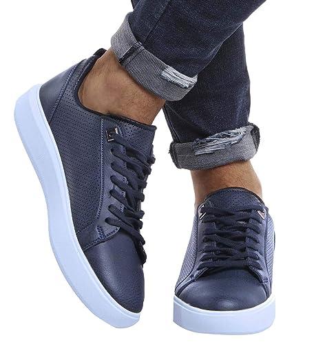 Leif Nelson Herren Schuhe für Freizeit Sport Training Freizeitschuhe Männer Weisse Sneaker Sommer Winter Sommerschuhe Sportschuhe Weisse Schuhe für