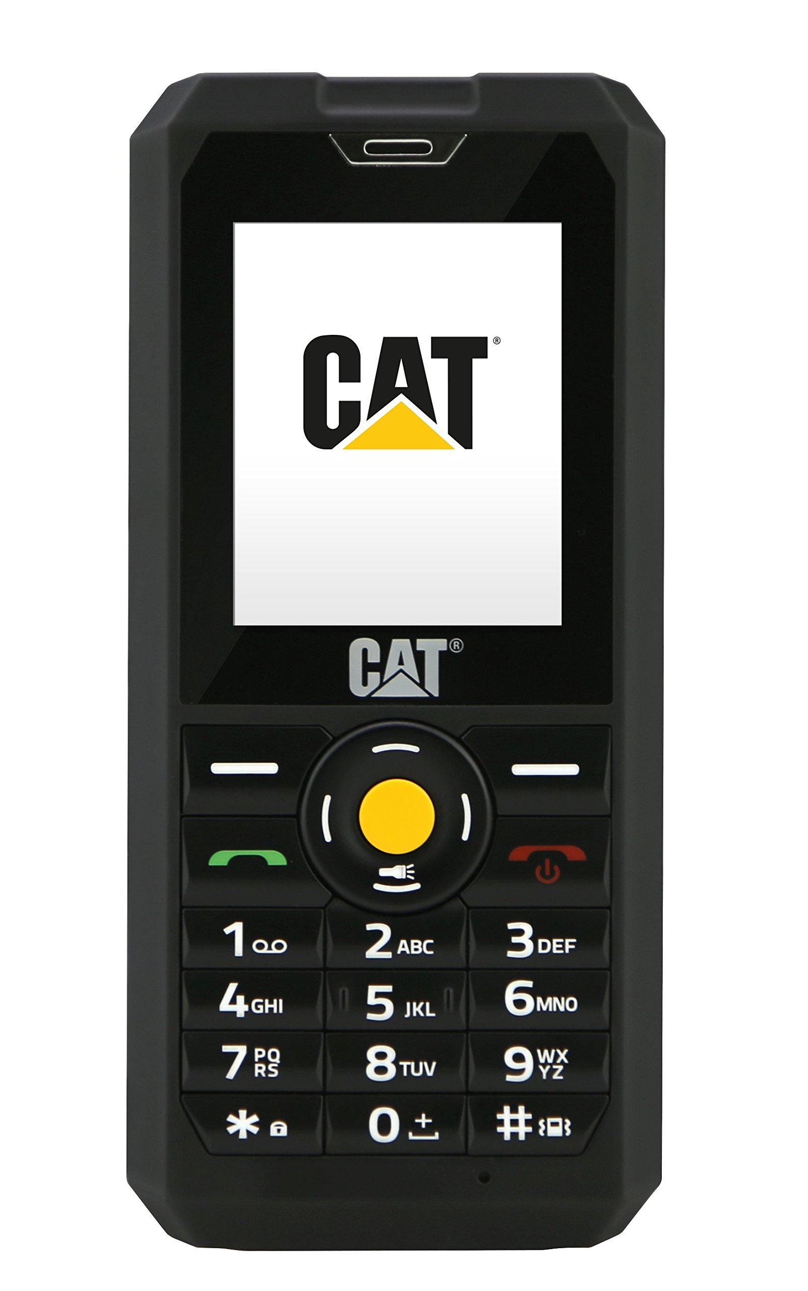 CAT PHONES B30 Rugged Dual-SIM Mobile Phone (128MP, 2 Inch Display, 2MP Camera, 1000mAh Battery, SIM Free, Dust and Waterproof)