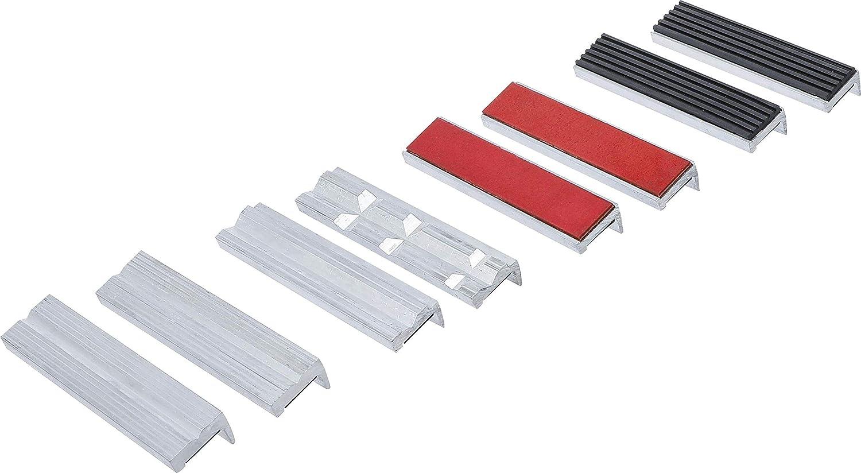 BGS technic 8442-1 Jeu de 8 m/âchoires de protection en aluminium avec aimant 125 mm
