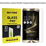"""ASUS Zenfone 3 Deluxe ZS550KL Tempered Glass Screen Protector - MOTONG Screen Protector for ASUS Zenfone 3 Deluxe ZS550KL 5.5"""",9 H Hardness,0.3mm Thickness,Made From Real Glass"""