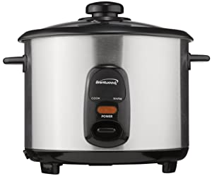Brentwood Appliances TS-15 8-Cup Rice Cooker, Samsung, Silver