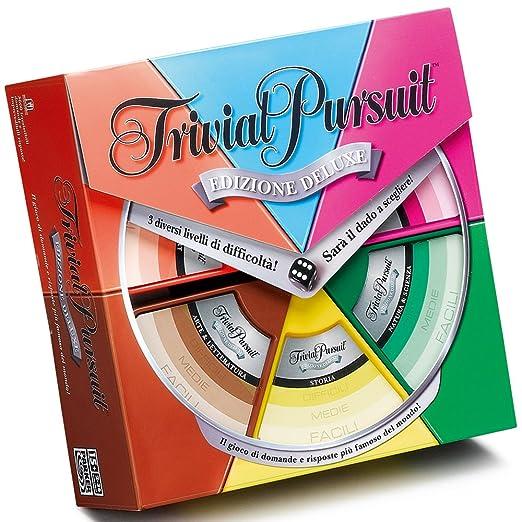 Hasbro Trivial Pursuit Deluxe Edition Brettspiel Auf Italienisch