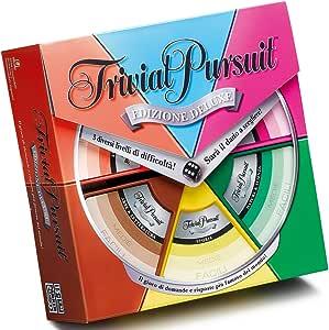 Hasbro Trivial Pursuit Deluxe Edition - Juego de Mesa (en Italiano): Amazon.es: Juguetes y juegos
