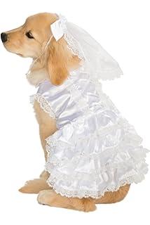 rubieu0027s big dog bride costume white