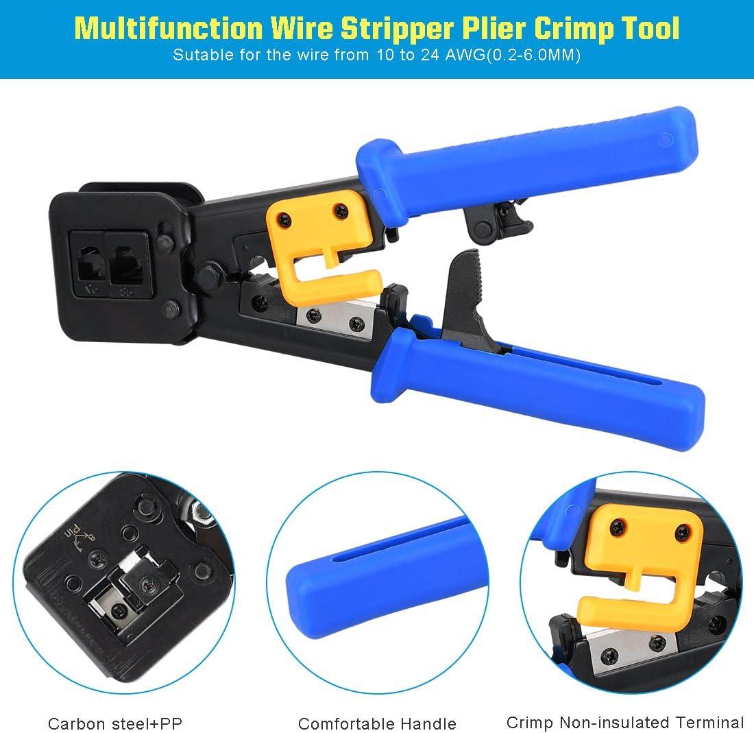 Pince à sertir terminaisons Pince avec cliquet Crimping Pince à sertir câble Chaussure Pince BGS