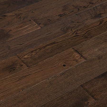 Mazama Hardwood Handscraped Tropical Collection Oak Blackmoon