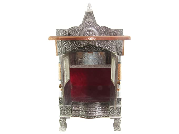 Buy GoldGiftIdeas Handcrafted Pooja Mandir for Home, Home Temple ...
