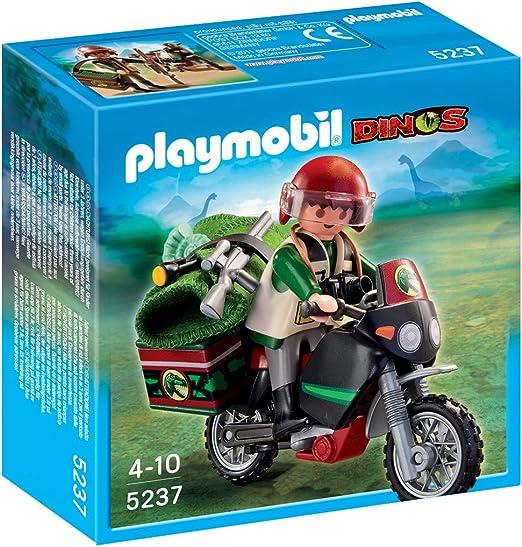 PLAYMOBIL - Moto Explorador (5237): Amazon.es: Juguetes y juegos