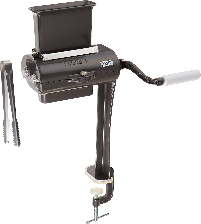 Weston 07-3801-W-A Manual Single-Support Jerky Slicer 4.5