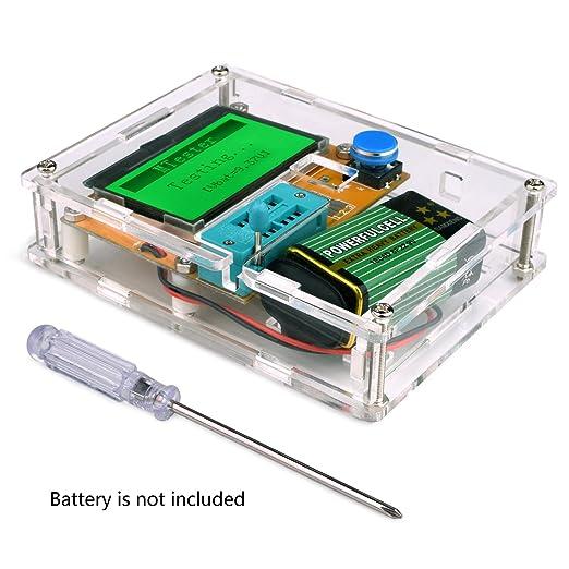 3 opinioni per Tester transistor, Kuman Mega328 capacità Grafica transistore Tester diodo