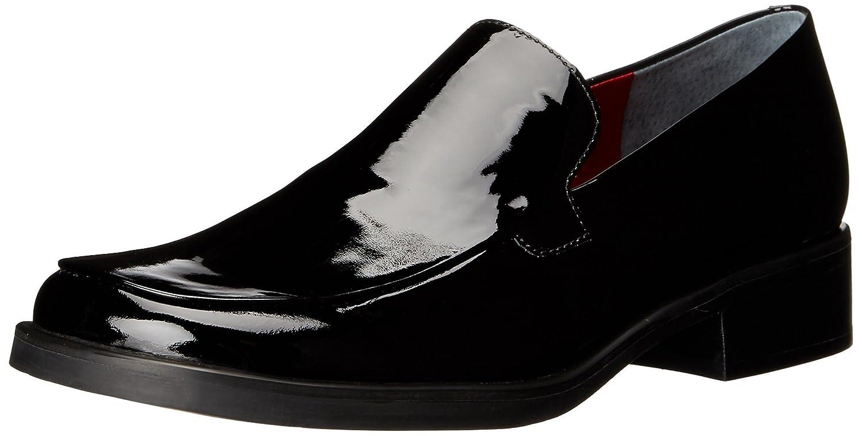 Black Patent Narrow Franco Sarto Women's Bocca Loafers