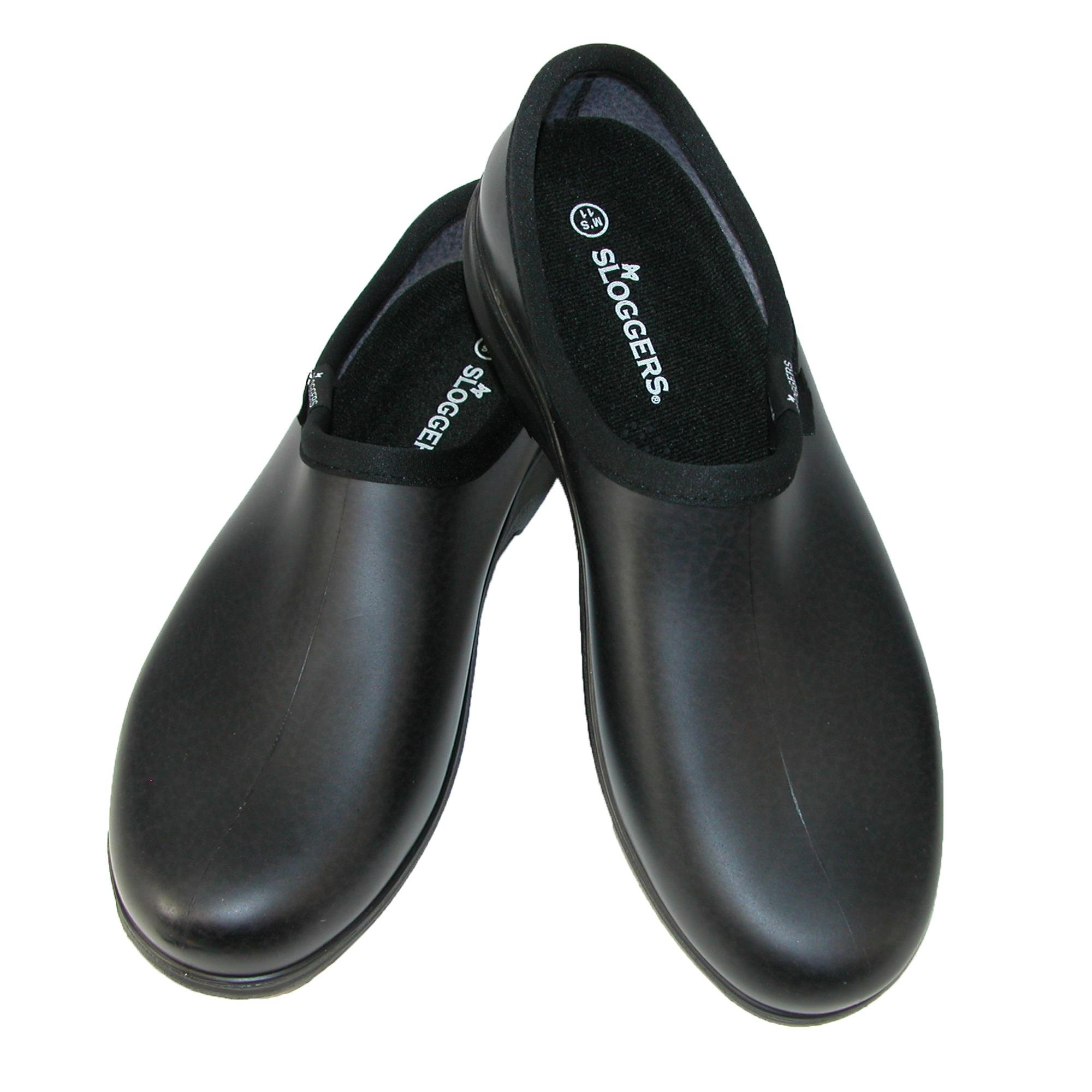 Footwear By Cherokee Men's Sloggers Clog Black