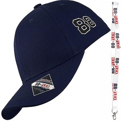 88-FLEX Gorra de Béisbol para Hombre Mujer - Regalo Llavero - El Mejor Baseball Cap Flexfit Strech Back Apoyo - Algodón - Nueva Classica Modelo Urban ...
