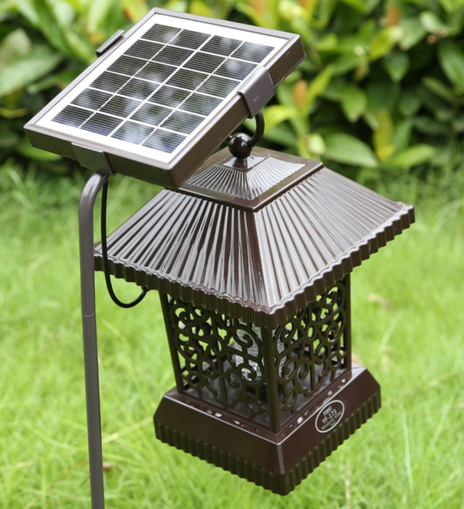 MAFYU Solar mosquito lamp, outdoor mosquito repellent lamp, outdoor mosquito catching device, super waterproof technology, green environmental protection by MAFYU (Image #2)