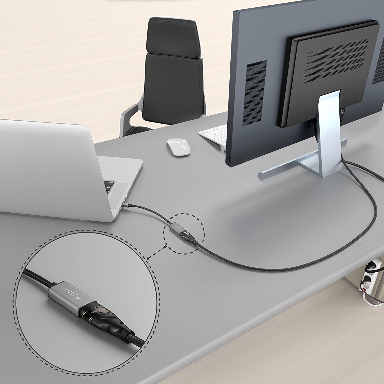 Mini DP r/ésolution maximale, 4K//60Hz, Contacts plaqu/és Or 24 carats, pour iMac, MacBook vers HDMI KabelDirekt Convertisseur Mini DisplayPort