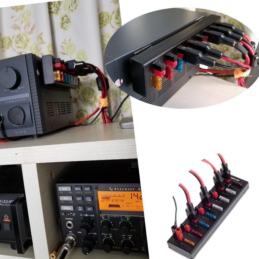 Amazon.com: WINDCAMP 8port+4port 40A Powerpole Connector ...