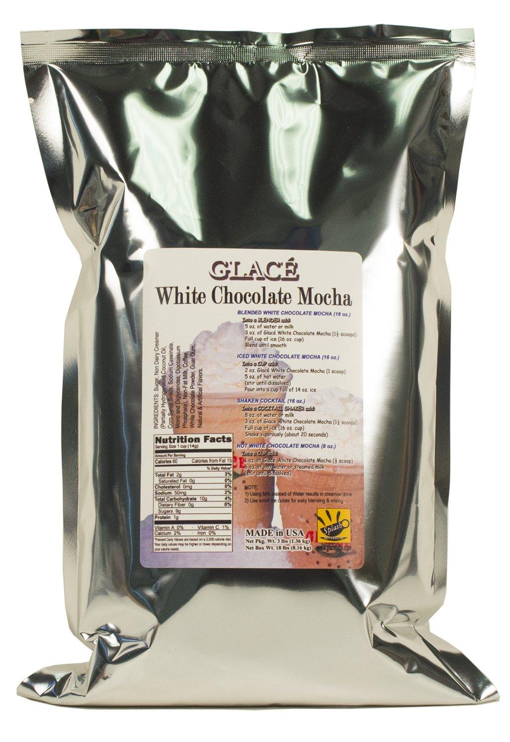 Glace White Chocolate Mocha (3-lb pack)