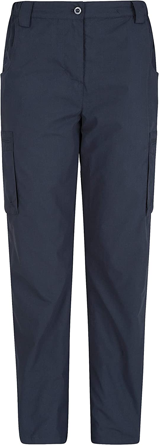 Mountain Warehouse Winter Trek II Womens Trousers Travelling Lightweight Thermal Lined Casual Bottoms Perfect for Hiking Fast Dry