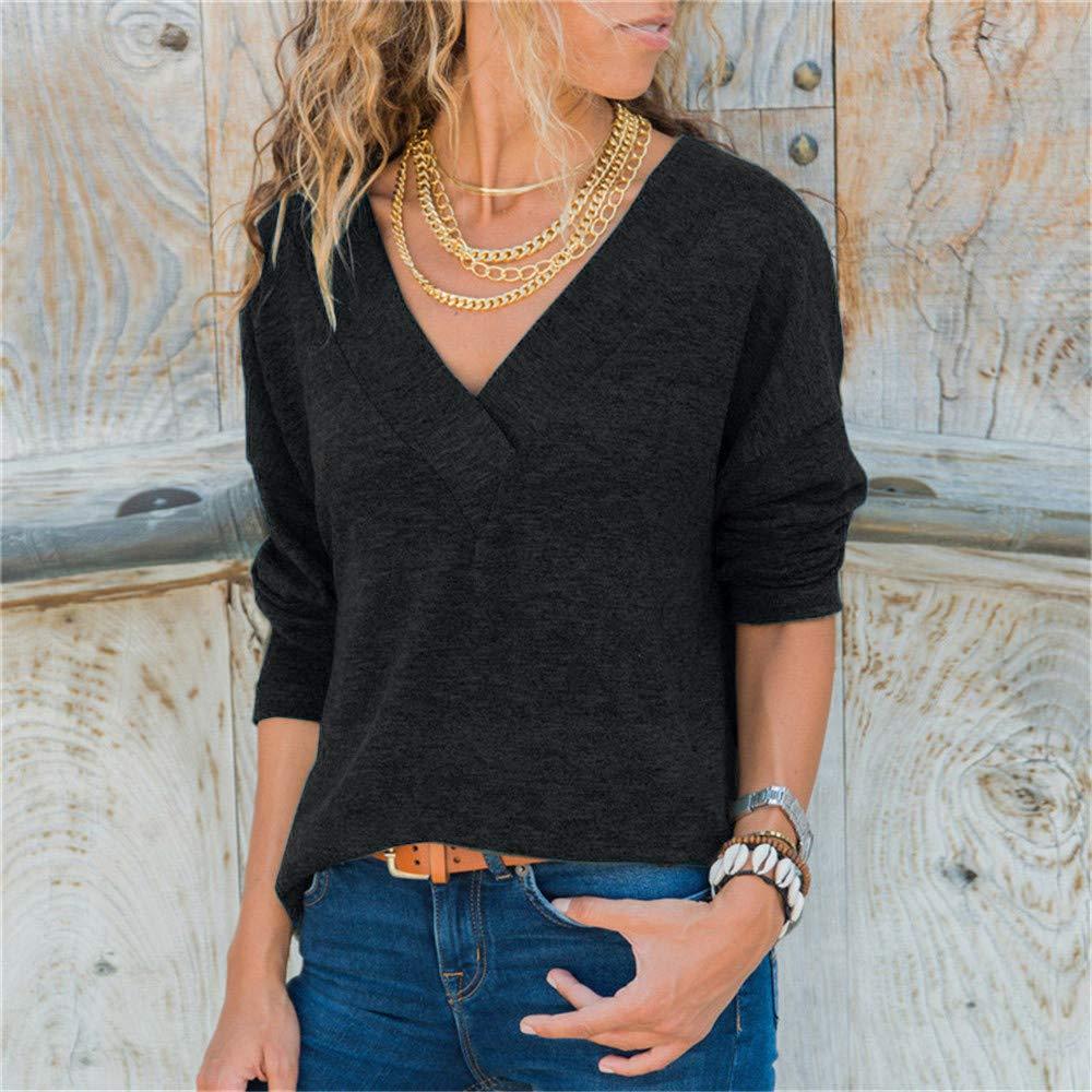 a5d2712f643b3 VonVonCo Pullover Sweaters Women, Women's Winter Autumn Long Sleeve ...