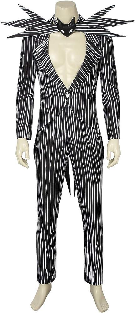 DELight Disfraz de Jack Skellington para Adultos y niños - - S ...