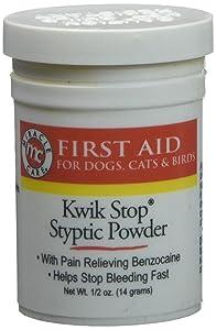 New Puppy Checklist: Qwik Stop Styptic Powder