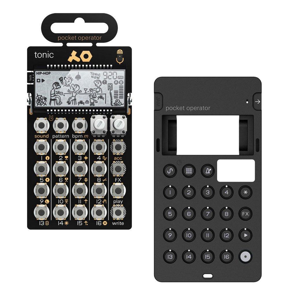 Teenage Engineering PO-32 Tonic Pocket Operator + CA-X Silicone Case Bundle