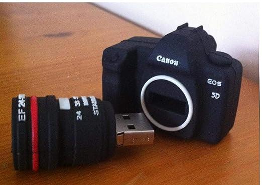 TOSSPER 4 GB Mini cámara réflex Digital USB Flash Drive Memory ...