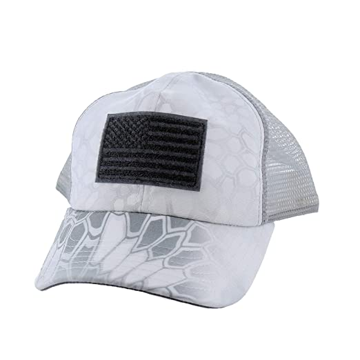 45525f1720a Amazon.com  Rogue American Flag Mesh Back Hat (One Size