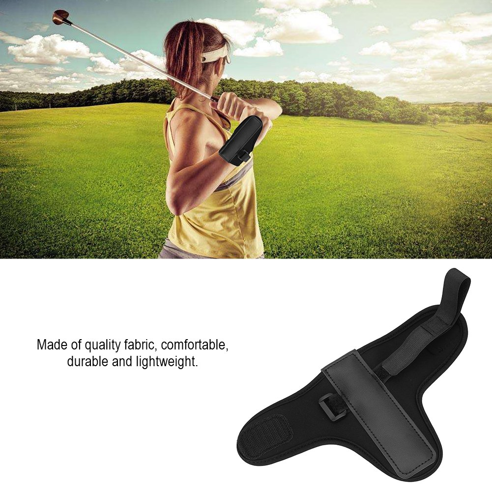 Golf Swing Training Aid Tactic, Golf Wrist Brace Band, Glove Golf Swing Train Aid Set Straight Practice Wrist Brace Trainer Corrector Golfer Accessory by Vbestlife (Image #6)