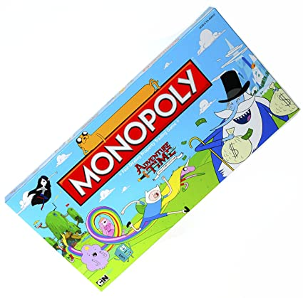 U S of A Monopoly Games Adventure Time Monopoly Game _ For 2 to 6 Players: Amazon.es: Juguetes y juegos