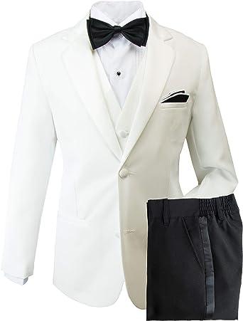 Boys Tuxedo in Black Dresswear Set Size X-Large 18-24 Months