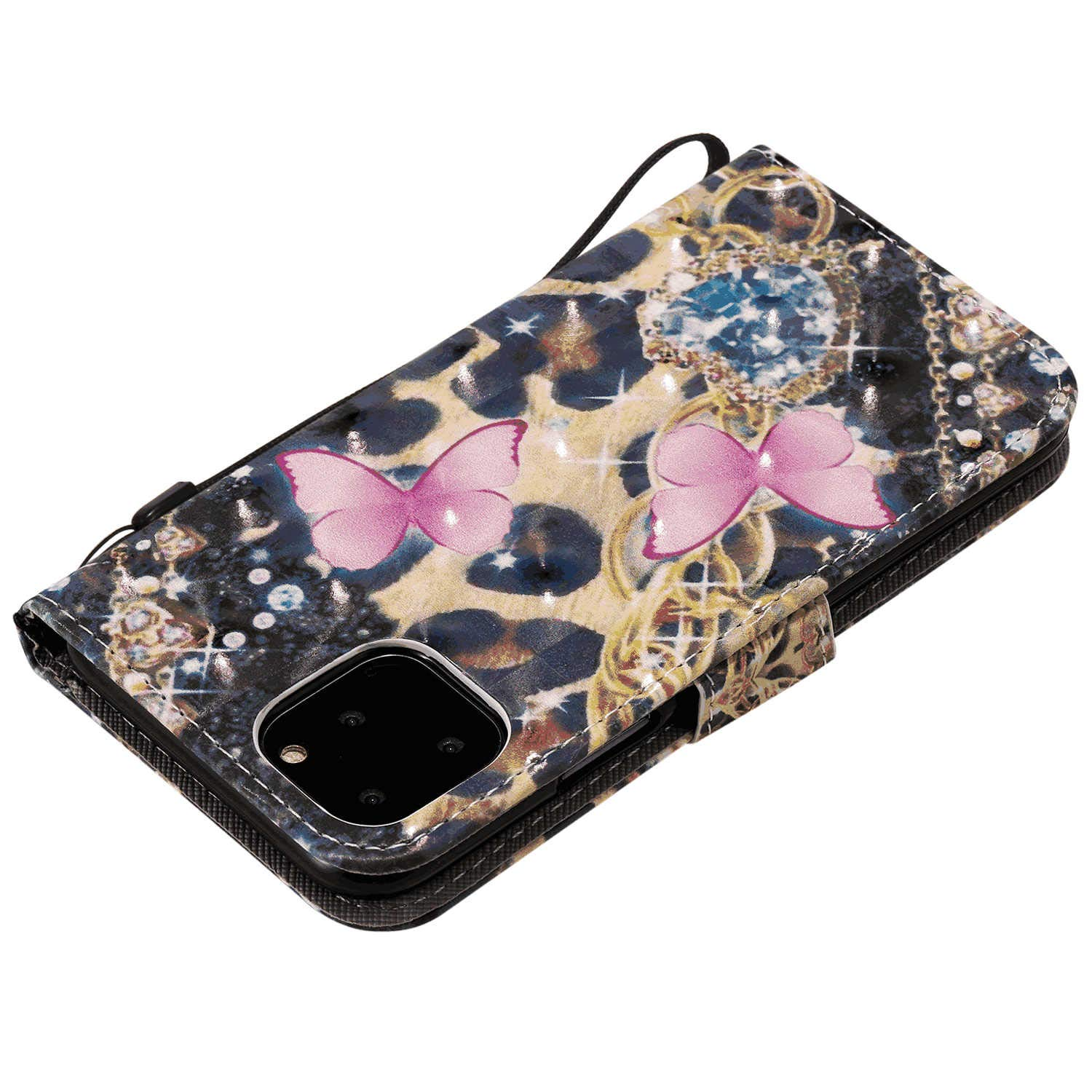 Flower Wallet Case for Samsung Galaxy S20 PU Leather Flip Cover Compatible with Samsung Galaxy S20