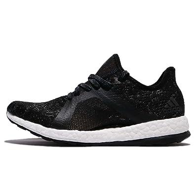 adidas donne pureboost x elemento, nero / bianco a correre