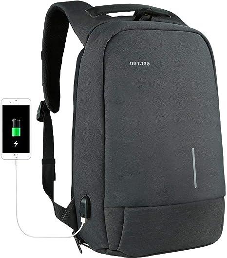 Mens Backpack Waterproof Laptop Notebook Rucksack Travel School Shoulder Bags