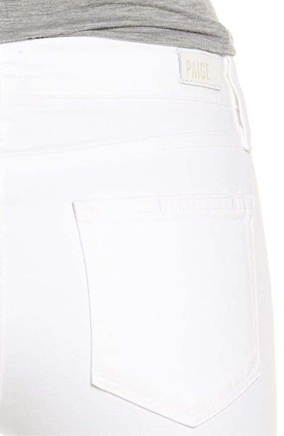 2ab2758180b Amazon.com: Paige, Skyline Ankle Peg Jean, Optic White, Size 29: Clothing