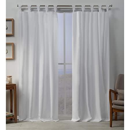 Exclusive Home Curtains Loha BT Panel Pair, 54×96, Winter White