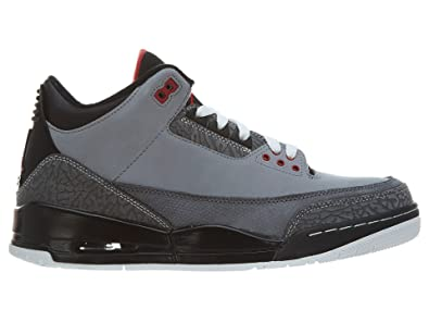 Nike Air Jordan 3 Retro \u0026quot;Stealth\u0026quot; Mens Basketball Shoes  [136064-003