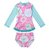 dPois Infant Baby Girls' Long Sleeves One-Piece