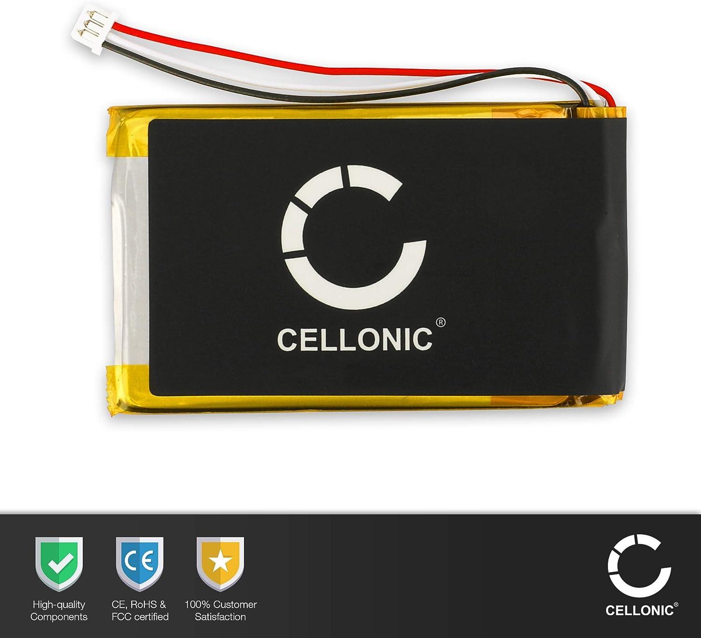 Werkzeug-Set Ersatzakku Batterie CELLONIC 2X Qualit/äts Akku kompatibel mit Tomtom GO 530 GO 630 GO 730 SatNav AHL03714000,VF8 1300mAh GO 930 Traffic GO 720