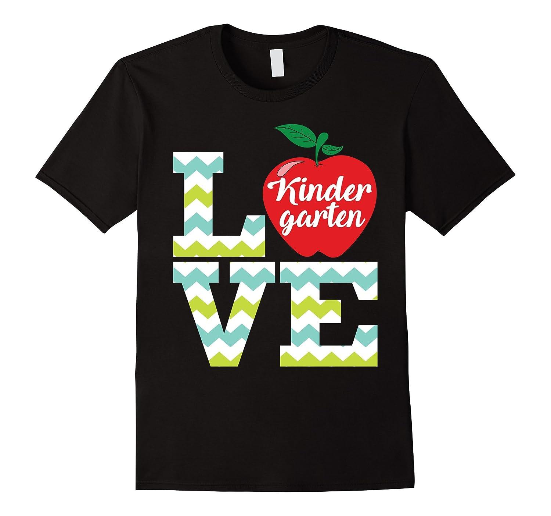 Love Kindergarten Teacher T-Shirt Funny Gift for Teacher-Art