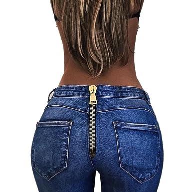 DamenHuihui Für Damen Waist High Skinny Hosen Bis Jeans AR354qSLcj