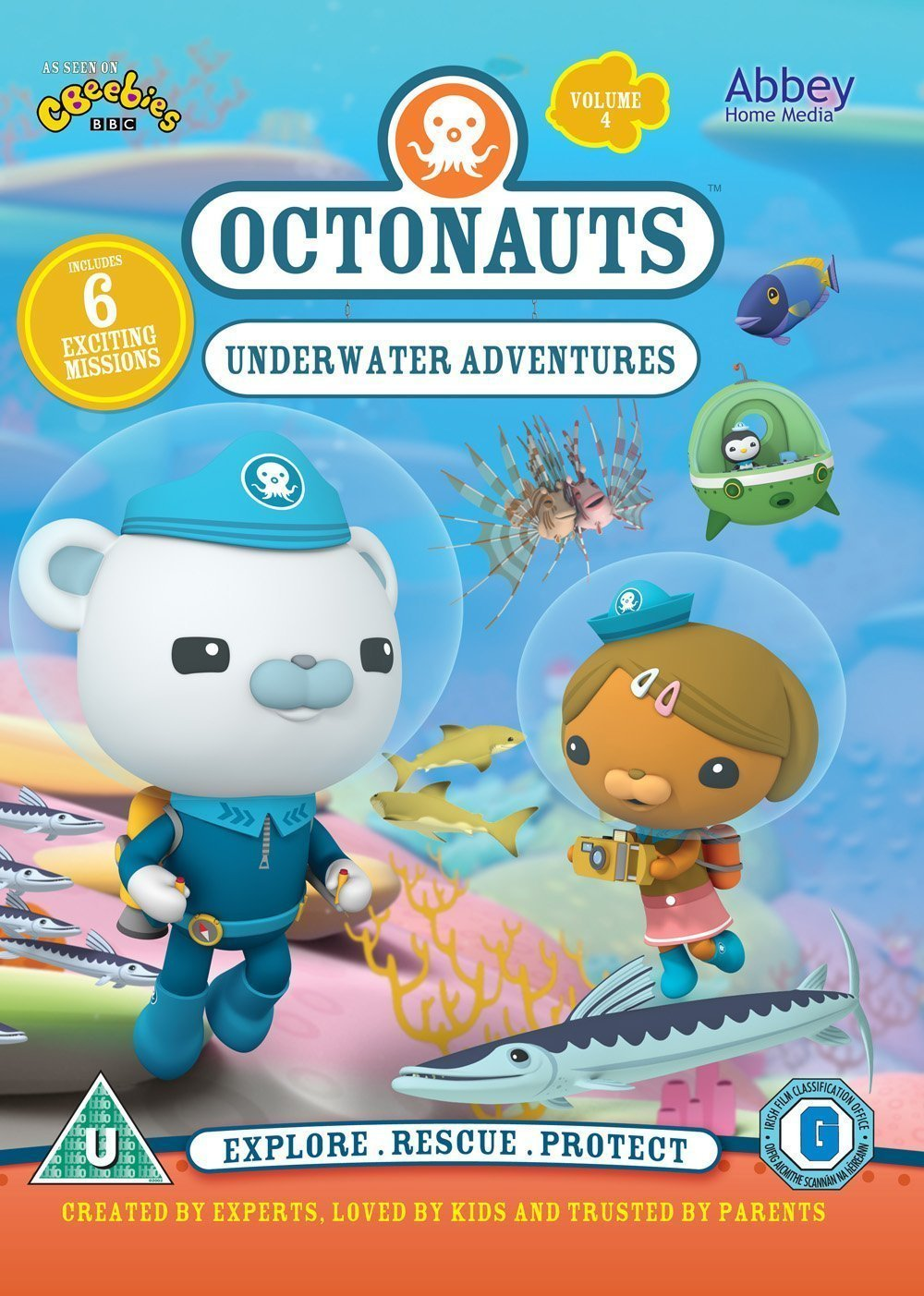 Octonauts - Christmas Adventures [DVD]: Amazon.co.uk: DVD & Blu-ray