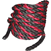 Foricx PVC (1.25 Inch Thick/20 Feet) Battle Rope/Gym Exercise Rope, Strength Exercise Rope, Both Hand and Whole Body Exercise Gym Rope