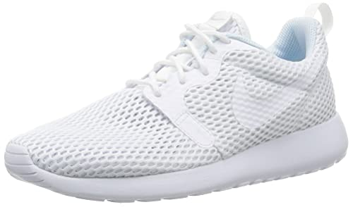 detailing 12fa1 d823d Nike Women s Roshe One Hyperfuse Br Training Running Shoes, White Pure  Platinum, 3.5