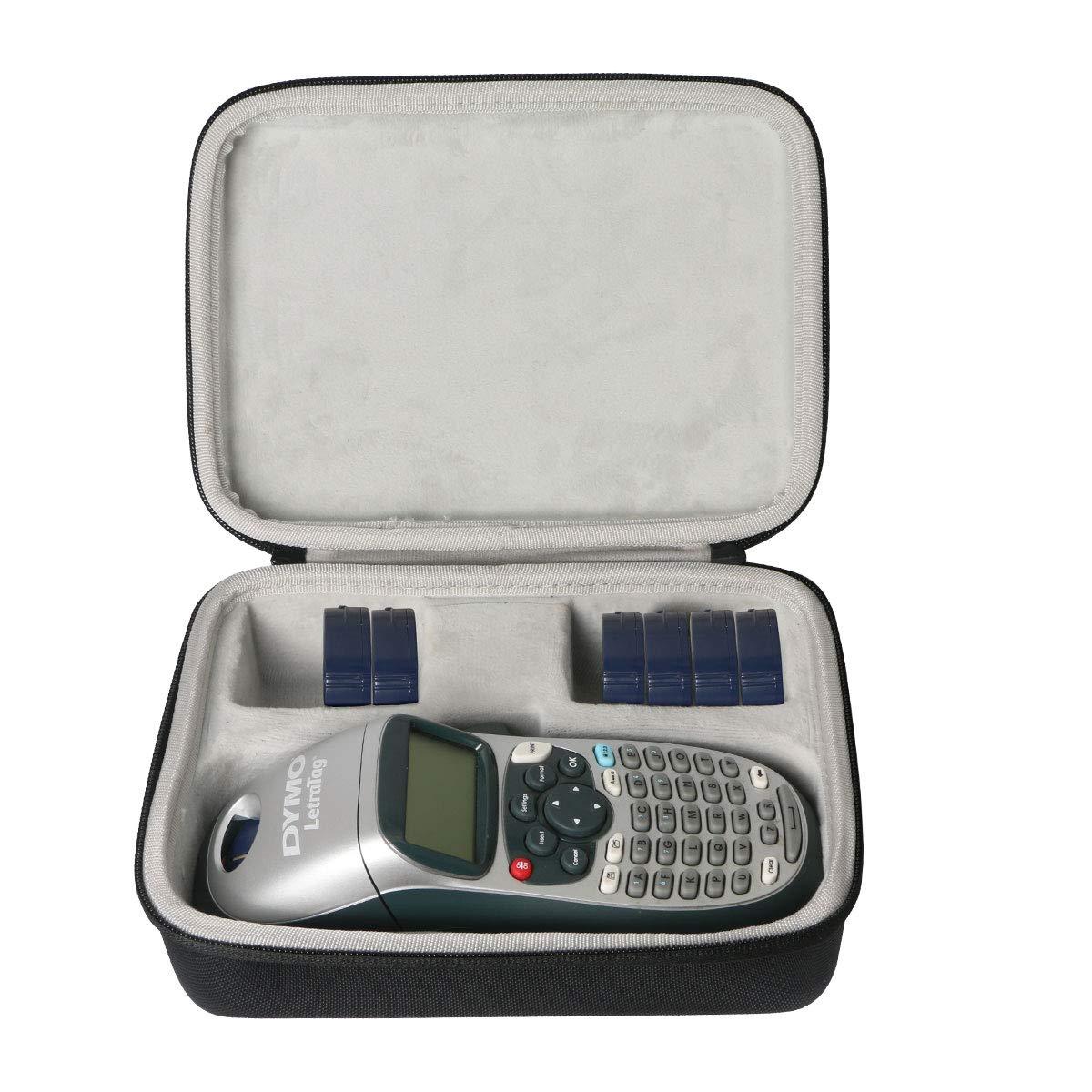 Khanka Hard Case Carrying Travel Bag for Dymo S0883980 LetraTag LT-100H Label Maker ABC Keyboard